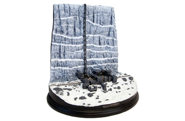 Game Of Thrones Castle Black and the Wall Desktop Sculpture In Stock Now