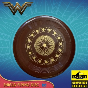 Wonder Woman - Shield Flying Disc 2020 Consolation-Con SDCC Exclusive