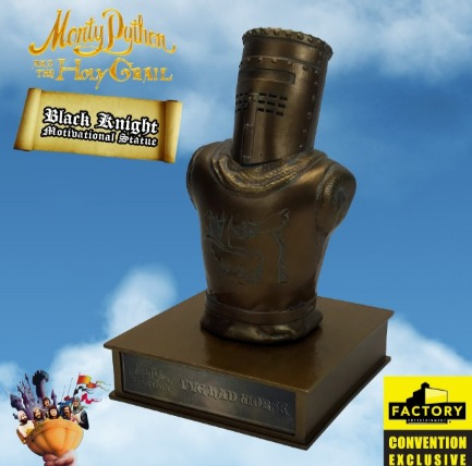 Monty Python - Black Knight Motivational Statue 2020 Consolation-Con SDCC Exclusive